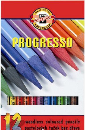 Карандаши цветные бездревесные Progresso Koh-i-Noor 875