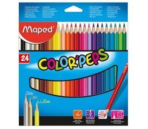 Карандаши цветные COLOR PEPS 24 Maped Classic MP.183224
