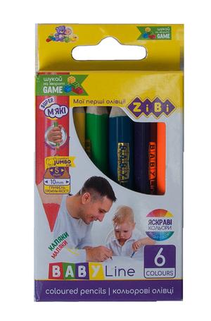 Карандаши цветные mini JUMBO BABY Line ZiBi ZB.2450