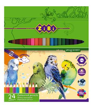 Карандаши цветные SOFT ZiBi ZB.241