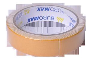 Клейкая лента двухсторонняя на пенной основе 24мм х 2м Buromax BM.7514