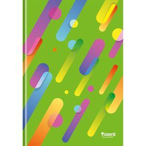 Книга записная А4 Colour Rain карт.обл 96л клетка 8422-3-A