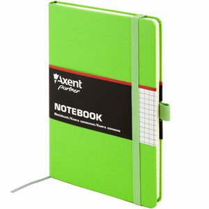 Книга записная А5 96 листов клетка Partner Axent 8201-A