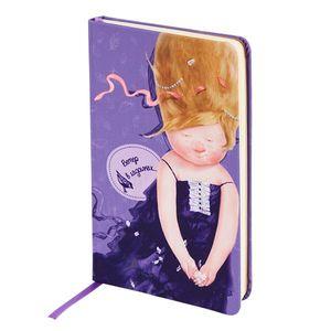 Книга записная Gapchinska в тканевой обложке A5- Axent 8416-01-A