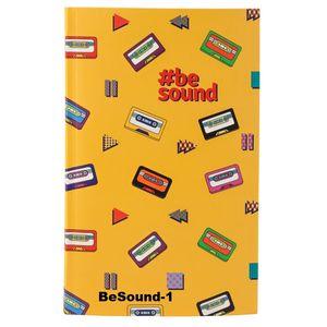 Книга записная интегральная обл В6 80 листов клетка BeSound Kite K19-260