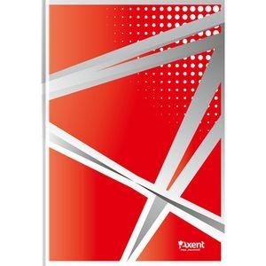 Книга записная Office А4 карт.обл 96л клетка Axent 8422-4-A
