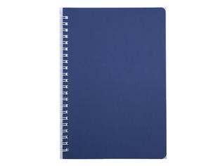 Книжка записная на пружине BARK А5, 60л.,кл., пластик.обл.,Buromax BM.24554154