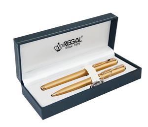 Комплект (П+Ш) в подарочном футляре L, золото Regal R18109.L.BF