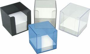 Бокс для бумаги 90x90x90 мм Delta D4005