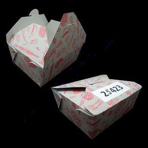 Ланч-бокс картонный 01254