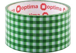 Лента клейкая упаковочная 48 мм*20 м Optima O4536