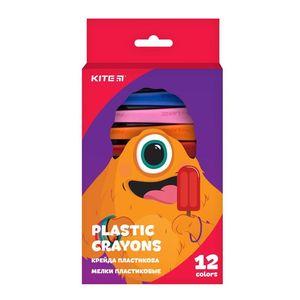 Мелки пластиковые 12 цв Jolliers Kite K19-072-12