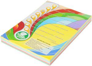 Набор цветной бумаги А4 80г/м2 IQ A4.80.IQ.RB01.250 пастель
