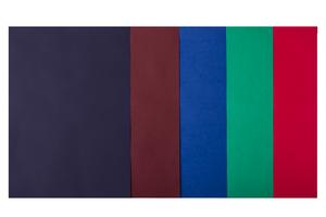 Набор цветной бумаги А4, 80г/м2, DARK, 5 цв., 20 листов BUROMAX BM.2721420-99