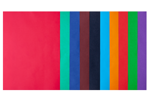 Набор цветной бумаги А4, 80г/м2, DARK+INTENSIVE, 10 цветов, 20 листов BUROMAX BM.2721920-99