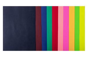 Набор цветной бумаги А4, 80г/м2, DARK+NEON, 10 цветов, 50 листов BUROMAX BM.2721050-99