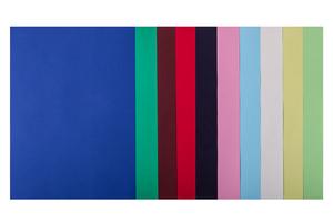 Набор цветной бумаги А4, 80г/м2, DARK+PASTEL, 10 цветов, 50 листов BUROMAX BM.27211150-99