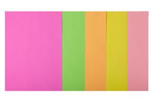 Набор цветной бумаги А4, 80г/м2, NEON, 5 цв., 20 листов BUROMAX BM.2721520-99