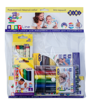Набор подарочный для детского творчества в прозрачном пакете, Baby Line Buromax ZB.9951