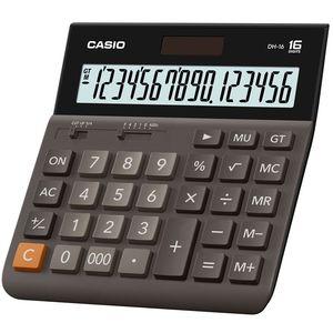 Настольный калькулятор широкоформатный 16-разрядный Casio DH-16-BK-S-EР