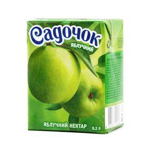 Нектар Садочок яблочный т/п 0,2л 1057749