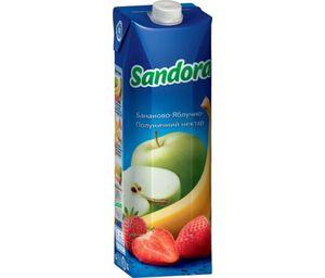 Нектар Sandora бананово-яблочно-клубничный 0,95л 10719478