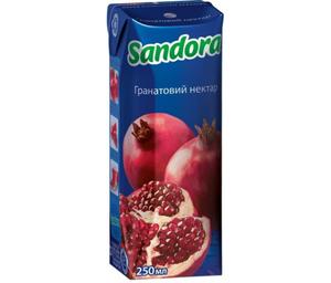 Нектар Sandora гранатовый 0,25л 10127489