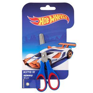 Ножицы детские пластиковые ручки с резиновыми вставками Hot Wheels Kite HW19-123