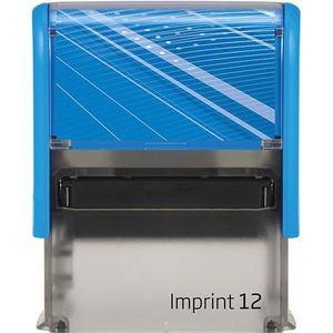 Оснастка для штампа пластмассовая 47х18мм эконом Trodat Imprint 12