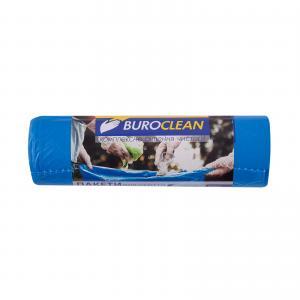 Пакеты для мусора EuroStandart крепкие, синие, 160 л, 10 шт, BuroClean, 10200053