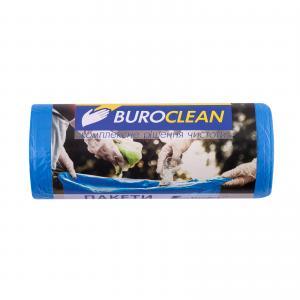 Пакеты для мусора EuroStandart синие, 35 л, 30 шт, BuroClean, 10200013