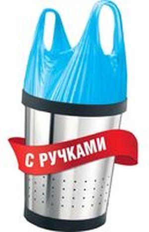 Пакеты мусорные ФБ с ручками тип майка 16501100 35л 30шт 0144145
