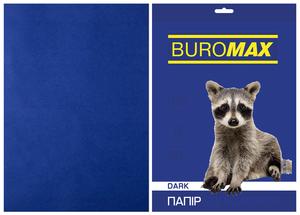 Бумага цветная А4, 80г/м2, DARK, 50 листов BUROMAX BM.2721450