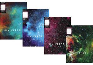 Папка А4 с 10 файлами Universe Optima O32108 ассорти