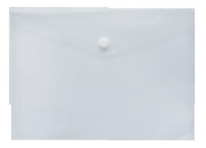 Папка-конверт А5 на кнопке Buromax BM.3937 ассорти