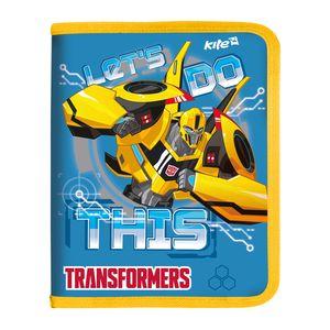 Папка на молнии B5 Transformers Kite TF17-203