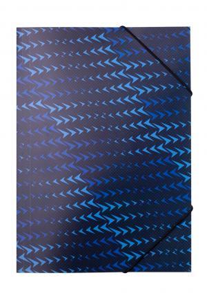 Папка на резинке A4, 500 мкм, BUROMAX BM.3958