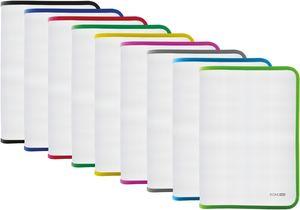 Папка-пенал А4 пластиковая на молнии прозрачная Economix E31644