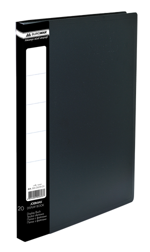 Папка с 20 файлами А4 Buromax JOBMAX BM.3605