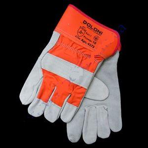 Перчатки 4573 комбинированные (кожа+хлопок) манжет 0145543