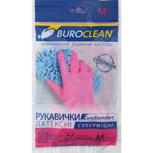 Перчатки хозяйственные суперпрочные, M, L, Buroclean, 10200304