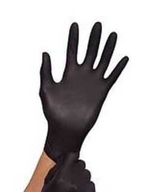Перчатки Мед 1187 нитрил Черные в боксе 100шт 014509