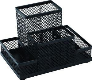 Подставка органайзер металлическая KL0910 Я12582_KL0910(черная)