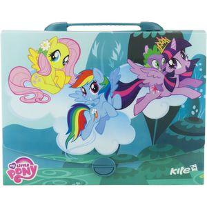 Портфель-коробка А4 My Little Pony Kite LP17-209