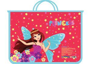 Портфель пластиковый на молнии Princess CF30001-05