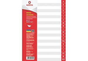 Разделитель листов А4 пластик от А до Z (алфавитный) Optima O35813
