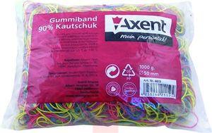 Резинки для денег цветные 4613-А 1000г Axent