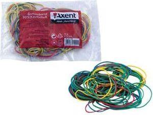 Резинки для денег цветные 200г Axent 4611