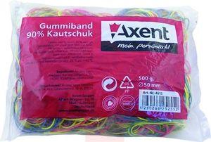 Резинки для денег цветные 500г Axent 4612