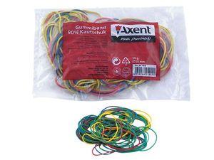 Резинки для денег цветные 50г Axent 4610